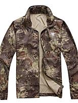 Unisex Long Sleeve  Tops Wearproof Breathability Hunting