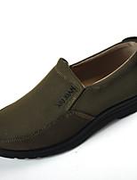 Herren Loafers & Slip-Ons Komfort Stoff Frühling/Herbst Herbst Normal Walking Komfort Flacher Absatz Schwarz Braun 2,5 - 4,5 cm