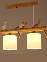 Lampe suspendue ,  Contemporain Traditionnel/Classique Peintures Fonctionnalité Bois/BambouSalle de séjour Chambre à coucher Salle à