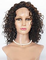 Cheveux en laine perruques avant corps perruque ondulée perruques avant perruques cheveux humains pour femmes