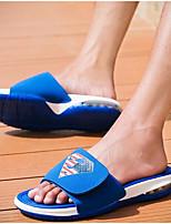 Men's Slippers & Flip-Flops Spring Comfort PU Casual Blue Yellow Black