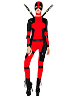 Inspired by Assassin Abel Nightroad Video Game Cosplay Costumes Cosplay Suits N/A Long Sleeve Leotard Belt More Accessories