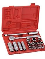 Jtech 21 ensembles d'ensemble d'outils métriques série 3/8 / 1 set