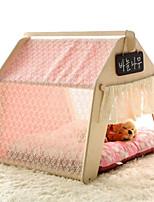 Cat Dog Bed Pet Mats & Pads Solid Soft Tent