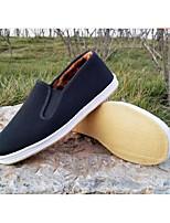 Da uomo Sneakers Comoda Tessuto Primavera Casual Nero Piatto