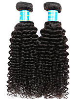 Vinsteen Peruvian Kinky Curly Hair Weave 2 Bundles Virgin Human Hair Extensions Natural Human Hair Weave Curly Human Hair Weft Extensions
