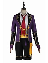 Inspired by Cosplay Cosplay Video Game Cosplay Costumes Cosplay Suits Fashion Long Sleeve Shirt Top Pants Gloves Belt Socks Tie