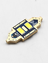 4x-new-2017-festoon-31mm-2-smd-5730-cnabus-branco-led-carro-domo-lâmpada-lâmpadas-3021-6428-de3175 12v