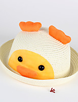 Kid's Yellow Duck Pattern Hat Cute Summer Hat
