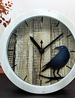 Modern/Contemporary Office/Business Houses School/Graduation Friends Wall Clock,Novelty Metal Wood Others Indoor Clock
