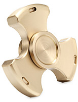 E-NICES Fidget Spinner Hand Spinner Toys Tri-Spinner Brass Metal EDCStress and Anxiety Relief Office Desk Toys Relieves ADD, ADHD, Anxiety,