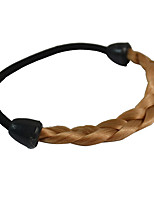 2 Pieces Twist Braid Hair Tie Plastic Hair Ponytail Hair Tools Golden Blonde