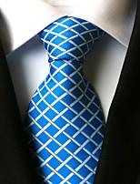 Men's Polyster Neck TieNeckwear Houndstooth All Seasons W0025