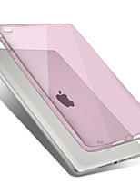 For Apple iPad Air2 Case Cover Transparent Back Cover Case Solid Color Soft TPU