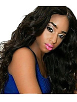 Brazilian Virgin Hair 130% Density Lace Front Human Hair Wigs Body Wave Glueless Remy Hair Wig with Baby Hair For Black Woman