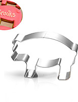 Farm Pig Piggy Cookies Cutter Stainless Steel Biscuit Cake Mold Metal Kitchen Fondant Baking Tools