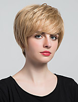 Fashion Fluffy Straight Short Hair Wigs And Human Hair