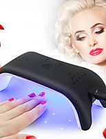 Mini 12W LED UV Nail Dryer Curing Lamp Light Portable Design with 3 Timer Setting for Quickly Dry LED Gel Nail Polish