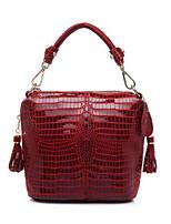 Women Shoulder Bag PU All Seasons Round Zipper Blue Black Ruby
