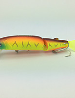 E# Orange  1 pcs Hard Bait Minnow Hard Bait Minnow 13g g/1/2 oz. Ounce113mm mm/4-1/2 inchSoft Plastic Metal Hard Plastic Steel WireBait