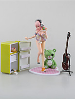 Anime Action Figures Inspired by Super Sonico Cosplay PVC 15 CM Model Toys Doll Toy 1pc