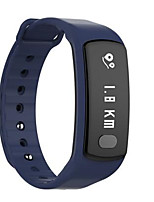 Bracelet d'ActivitéLongue Veille Calories brulées Pédomètres Enregistrement de l'activité Sportif Moniteur de Fréquence Cardiaque Ecran