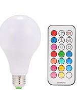 9w ac85-265v e26 / e27 10w a conduit des ampoules intelligentes a80 38 smd 5050 blanc chaud rgb v 1 pcs