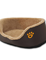 Собака Кровати Животные Коврики и подушки Footprint / Paw Теплый Дышащий Удобный Толстые Прочный