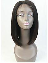 9а бразильские виргинские волосы bob парики прямые полный кружево человеческий парик волос короткий виргинский парик для волос bob для