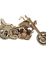 Puzzles Puzzles 3D Blocs de Construction Jouets DIY  Moto Bois Maquette & Jeu de Construction