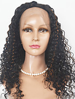 Brazilian Hair Short Length Lace Front Wigs Kinky Curl  Hair  Lace Front Wigs Human Hair Wigs For Black Women