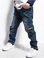 Boys' Casual/Daily Solid Pants-Others All Seasons