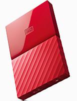 Wd wdbyft0040brd-cesn 4tb 2,5 pouces disque dur externe rouge usb3.0