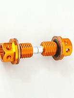 2PCS CNC Billet Aluminum Magnetic Oil Drain Plug Bolt For Chinese Pit Dirt Bike CRF50