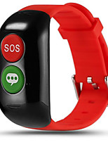 Elderly Smart Bracelet Pedometer Heart Rate Blood Pressure GPSWIFI Positioning Cloud Health SOS Call For Help Anti Lost