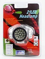 Lampes Frontales LED Lumens 1 Mode LED AAA Camping/Randonnée/Spéléologie Usage quotidien Cyclisme Chasse Escalade Extérieur