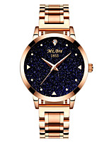 Women's Fashion Watch Quartz Water Resistant / Water Proof Alloy Band Silver Gold Rose Gold