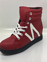 Women's Sneakers Comfort Denim Spring Fall Casual Office & Career Comfort Lace-up Flat Heel Ruby Flat