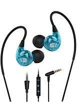 Langsdom sp90 anti-ljud hörlurar och mikrofon volymkontroll trådbundet headset