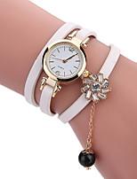 Mulheres Relógio de Moda Relógio de Pulso Bracele Relógio Único Criativo relógio Relógio Casual Quartzo PU BandaPendente Legal Casual