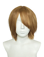 Lolita Cosplay Hair Amine Yellow Fashion Wigs Janpanese Hallow Hairstyle Wigs