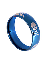 Women's Men's Ring Jewelry Basic Stainless Steel Round Jewelry 147 Party Birthday Party/ Evening Event/Party Daily Casual