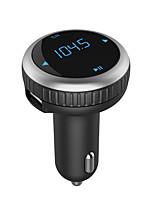 Automatique VBT69 V4.2 Kit Bluetooth Voiture Mains libres de voiture Emetteurs FM Port USB