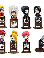 Anime Action Figures Inspired by Naruto Naruto Uzumaki PVC 10 CM Model Toys Doll Toy 1set