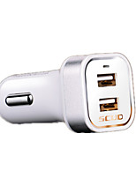 SCUD Fast Charge Other 2 USB Ports Charger Only DC 5V/3A