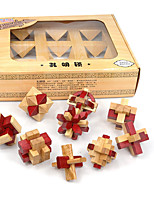 Building Blocks Kong Ming Lock For Gift  Building Blocks Wood 5 to 7 Years 8 to 13 Years 14 Years & Up Toys