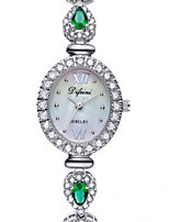 Women's Fashion Watch Quartz Alloy Band Sparkle Charm Silver