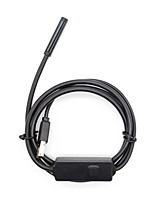 Waterproof industrial endoscope mobile phone computer dual-use endoscope 300 000 high-resolution pixels 2 meters long flexible wire.