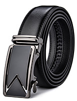 Men's Alloy Leather Waist Belt,Work Casual Solid Others Classic Fashion