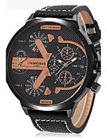 Homens AdultoRelógio Esportivo Relógio Militar Relógio Elegante Relógio de Moda Relógio de Pulso Bracele Relógio Único Criativo relógio